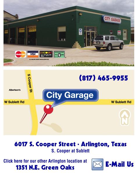 City Garage Lewisville Texas